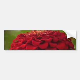 Bright Red Flower (Gift) Bumper Sticker