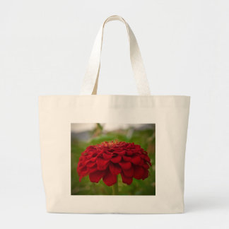 Bright Red Flower (Gift) Large Tote Bag