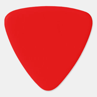 Bright Red Guitar Pick