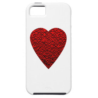 Bright Red Heart Picture. iPhone SE/5/5s Case