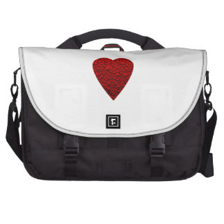 Bright Red Heart Picture. Bags For Laptop
