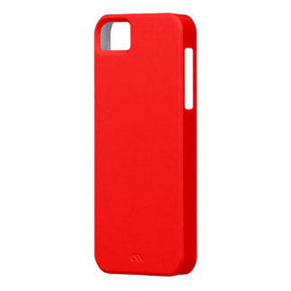 Bright Red iPhone 5 Case