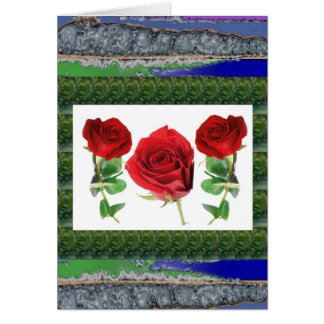 Bright red means love Gift for all Occassions Cards