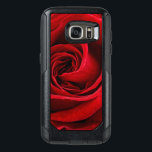 "Bright Red Rose Close Up OtterBox Samsung Galaxy S7 Case<br><div class=""desc"">Close up photograph of a beautiful rose in vivid red.</div>"