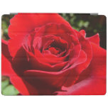 Bright Red Rose Flower Beautiful Floral iPad Smart Cover