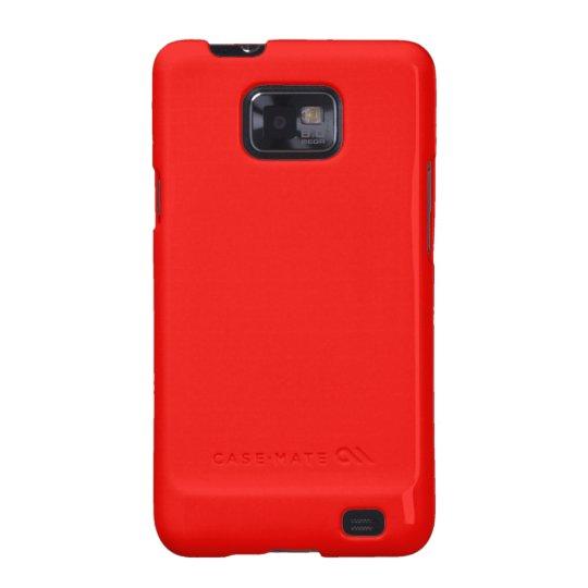 Bright Red Samsung Galaxy S Case