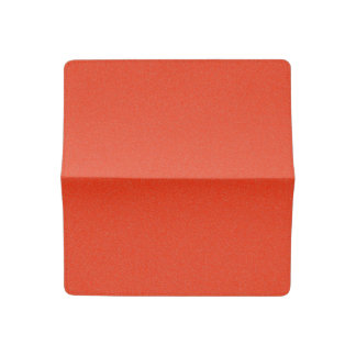 Bright Red Star Dust Checkbook Cover