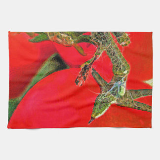 Bright Red Tomatoes Hand Towel