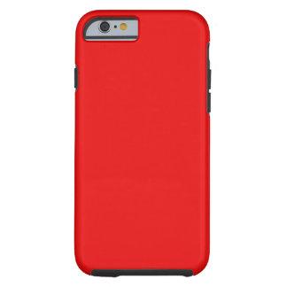 Bright Red Tough iPhone 6 Case