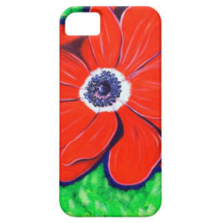 Bright Red Windflower iPhone SE/5/5s Case