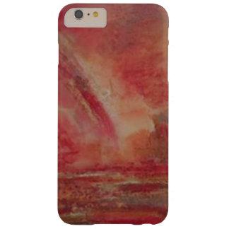 Bright reddish marble  iPhone / iPad case
