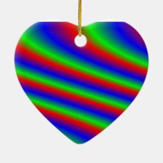 Bright RGB Ceramic Ornament