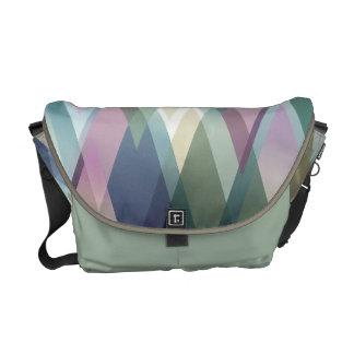 Bright Rhombus Designed Messenger Bag