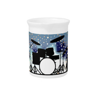 Bright Rock Band Stage Pitcher