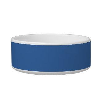 Bright royal blue bowl