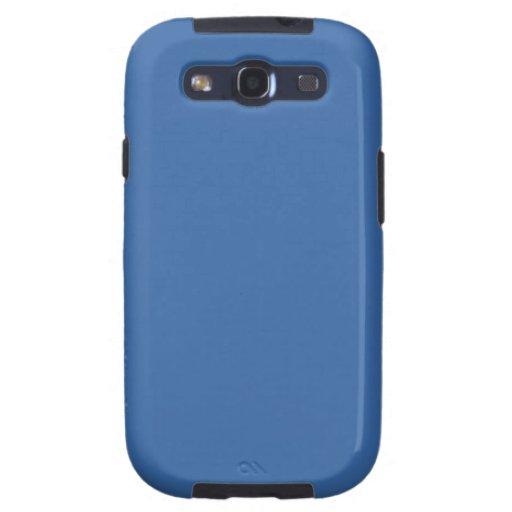 Bright royal blue samsung galaxy SIII cover
