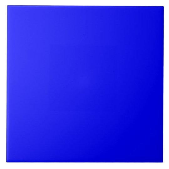 Bright Royal Blue Solid Trend Color Background Tile ...