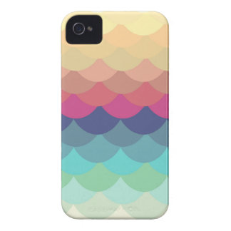 Bright Scallop Summer Pattern iPhone 4/4S Case