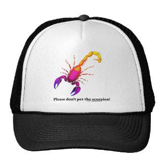 Bright Scorpion Trucker Hat