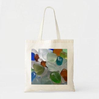 Bright Sea Glass Tote Bag