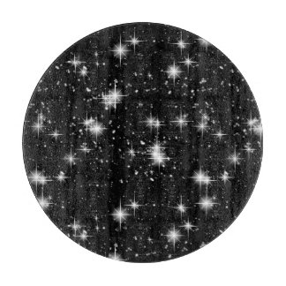 Bright Shining Stars In Space Cutting Board
