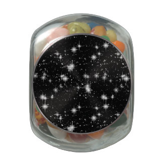 Bright Shining Stars In Space Jelly Belly Candy Jars