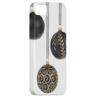 Bright Shiny Christmas Balls Ornaments Decorations iPhone SE/5/5s Case