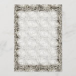 Bright Shiny Silver Celtic Spiral Knots Pattern