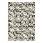Bright Shiny Silver Celtic Spiral Knots Pattern Photo Print