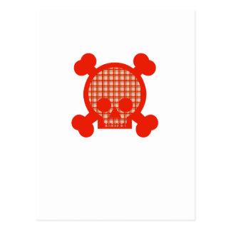 Bright Skull Postcard