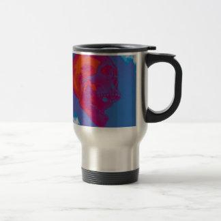 Bright Skull Travel Mug
