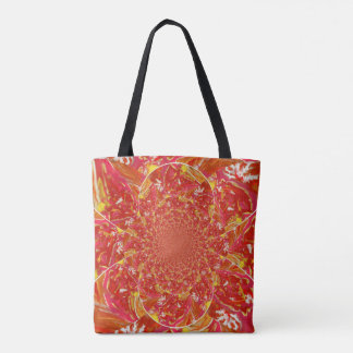 Bright Smudge BR2 Kaleidoscope Tote Bag