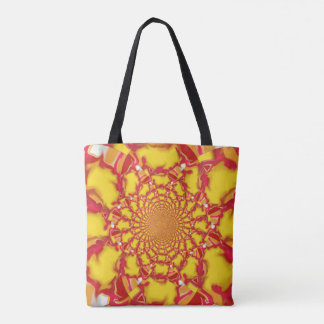 Bright Smudge TL Kaleidoscope Tote Bag