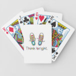 Bright Sneaks Bicycle Poker Cards