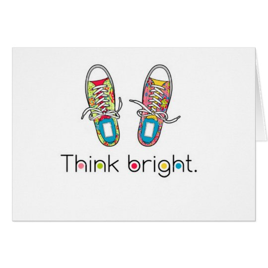 Bright Sneaks Card