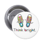 Bright Sneaks Pins