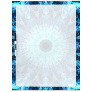bright snowflower kaleidoscope Dry-Erase whiteboard