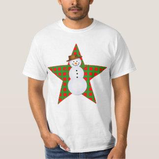 Bright Snowman Design on Tshirts, Mugs, Gifts T-Shirt