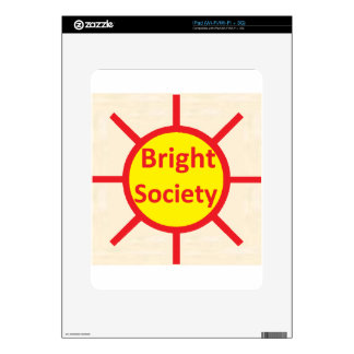 Bright Society Decals For The iPad