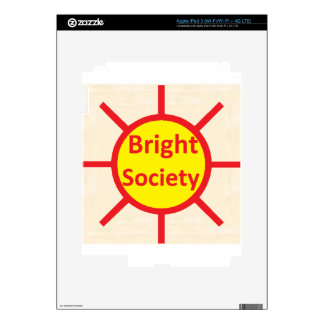 Bright Society iPad 3 Skin