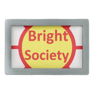 Bright Society Rectangular Belt Buckle