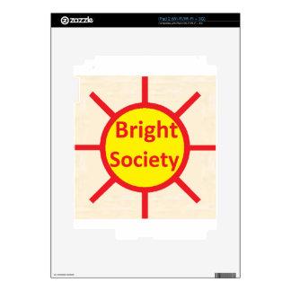 Bright Society Skin For The iPad 2