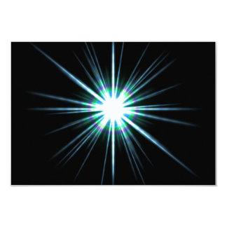 Bright Solar Flare Burst Card