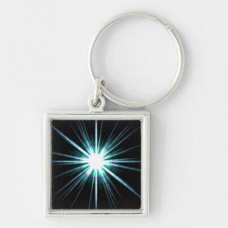 Bright Solar Flare Burst Key Chains