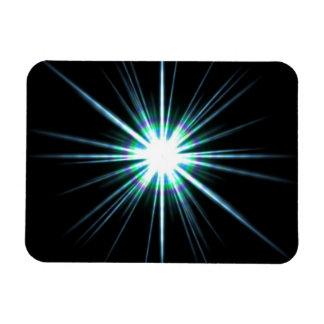 Bright Solar Flare Burst Magnet