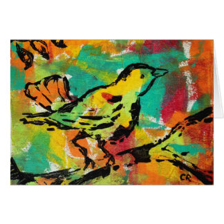 """Bright Song"" by Chris Rice Note Cards"