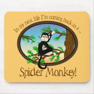 Bright_Spider_Monkey Mousepad Alfombrilla De Raton