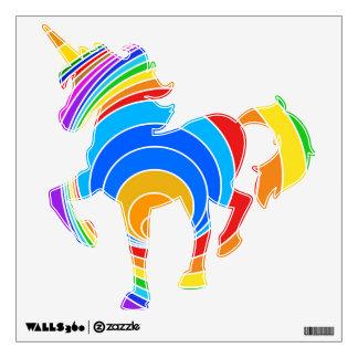 Bright Spiral Vortex Abstract Wall Sticker