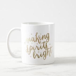Bright Spirits | Holiday Coffee Mug