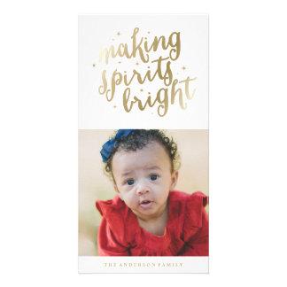 Bright Spirits | Holiday Photo Cards